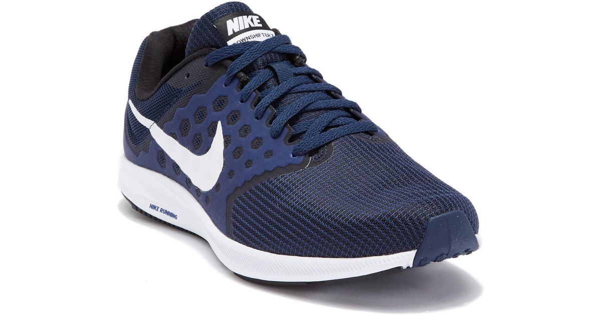 ... shop lyst nike downshifter 7 running sneaker wide width in blue for men  5ddc8 3fa8e 7e3fba221