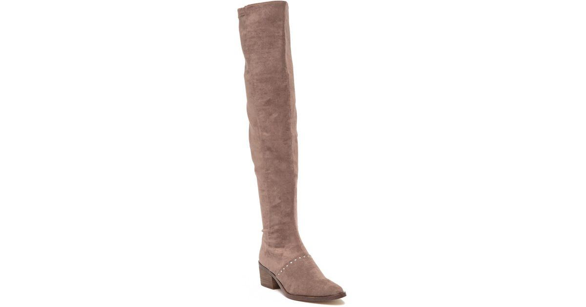 87d8bca9df2 Lyst - Report Zaria Over-the-knee Boot in Brown