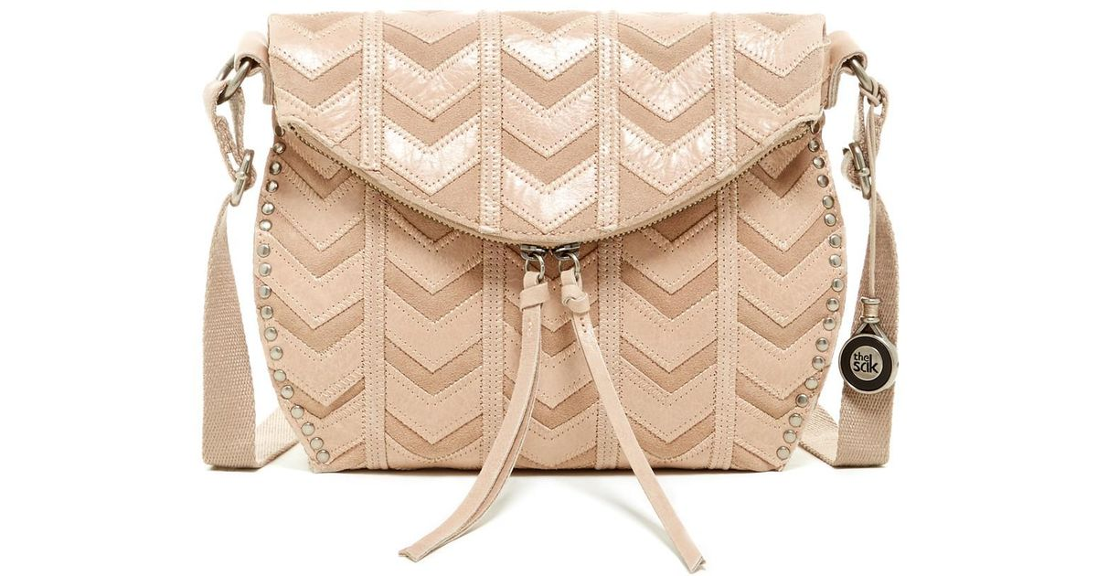 2706388186a3 Lyst - The Sak Silverlake Leather Crossbody in Natural