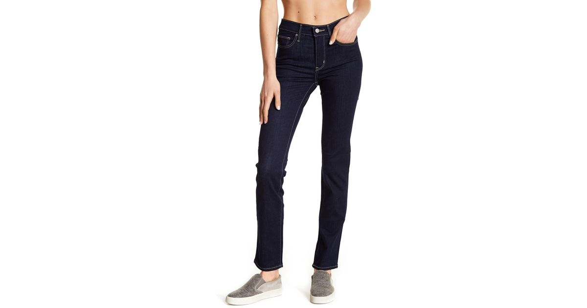b6c7bfc871e6 Levi's Slimming Slim Fit Jeans in Blue - Lyst