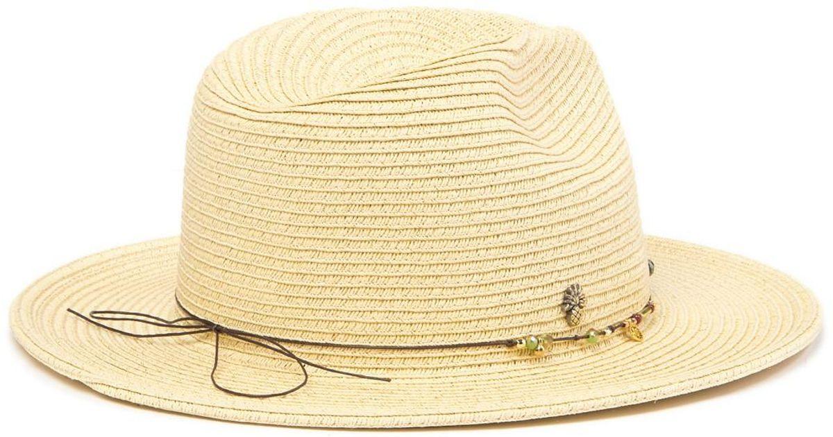 8db5d8c54 Tommy Bahama - Natural Charm Braid Safari Hat - Lyst