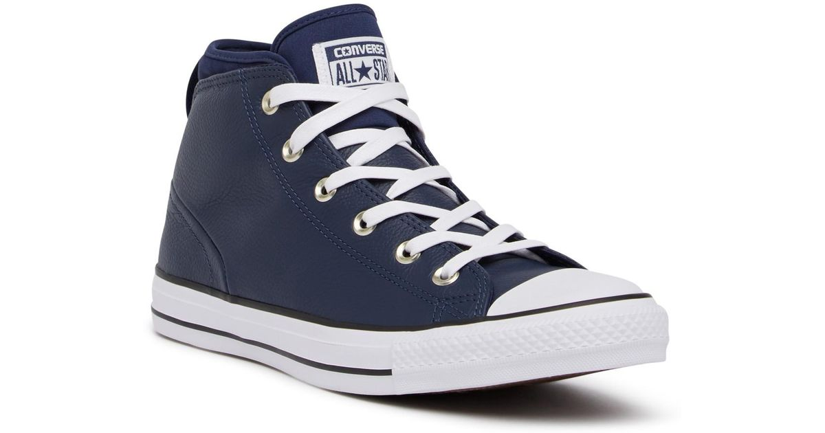 50ff5efa5d81 Lyst - Converse Chuck Taylor All Star Syde Street Mid Sneaker (unisex) in  Blue for Men