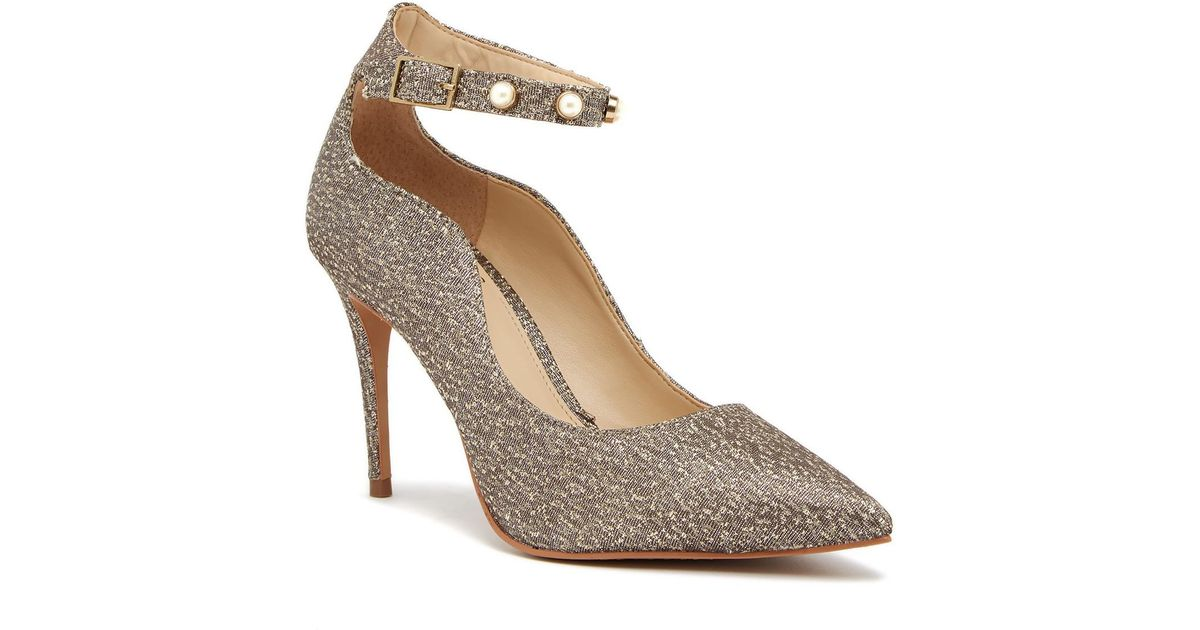Vince Camuto Jassita Jeweled Ankle Strap Pump