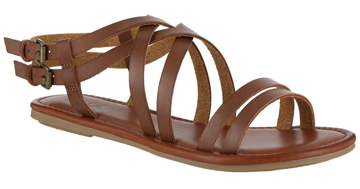 5a07750db0 Lyst - MIA Thunder Sandal in Brown