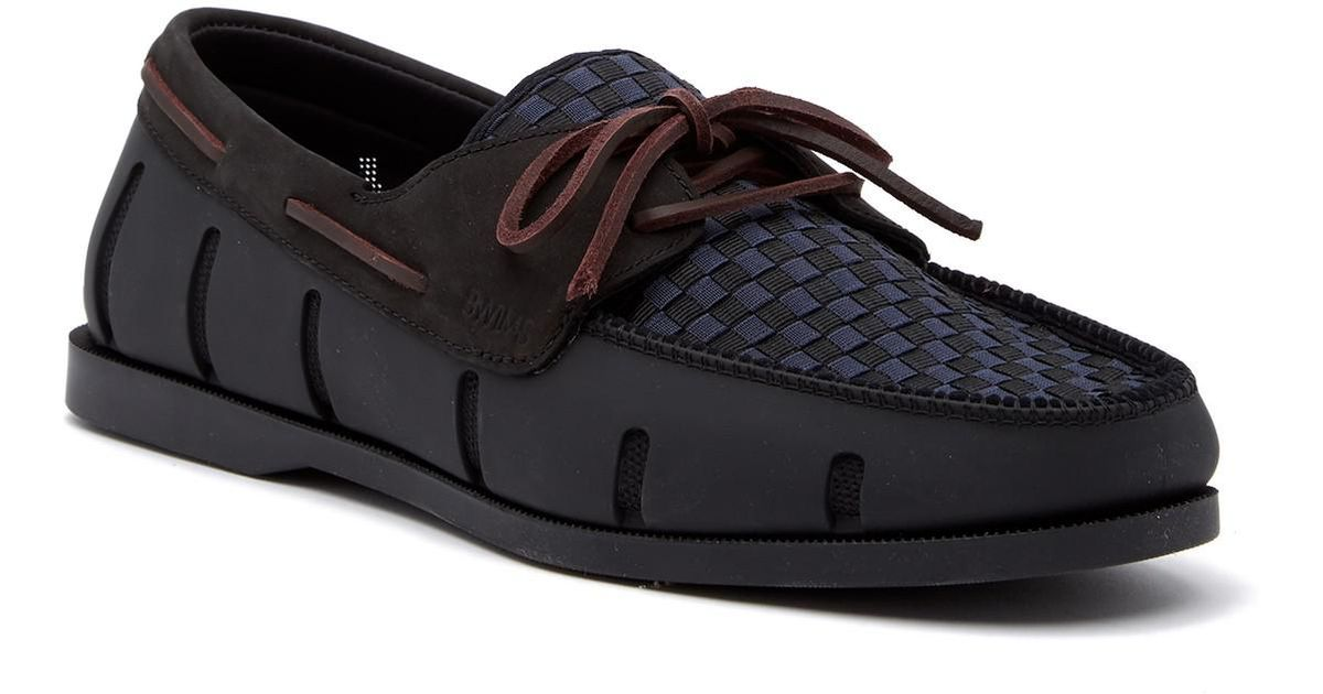 Swims Boat Loafer Woven b40EY