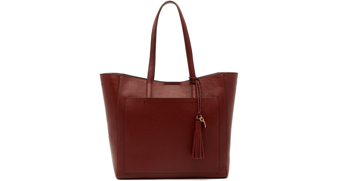92590e1ad33 Cole Haan Natalie Collection Leather Tote - Lyst