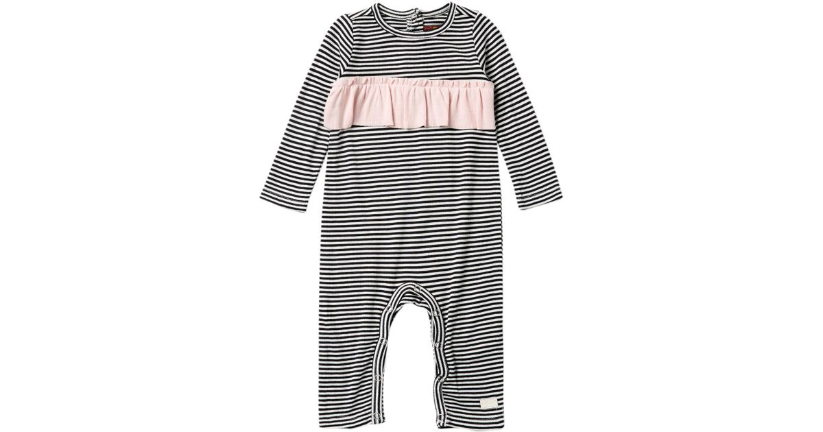46f6518f802c Lyst - 7 For All Mankind Striped Playsuit (baby Girls)