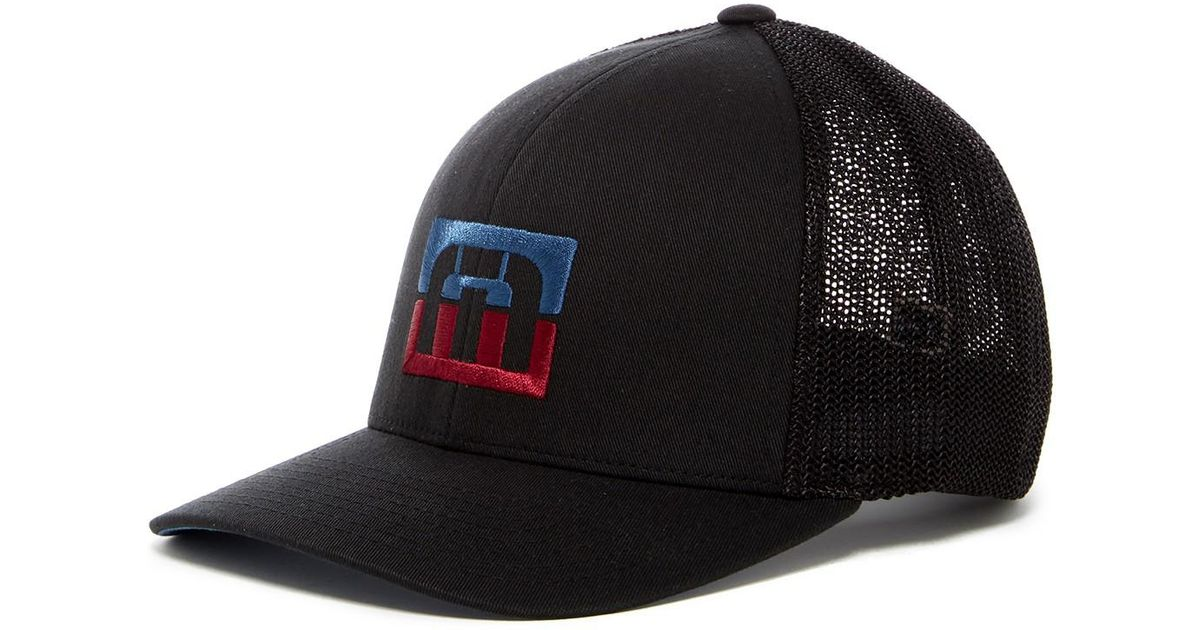 finest selection 17439 2e8f1 ... closeout lyst travis mathew seeley trucker hat in black for men 33d7c  ace7a