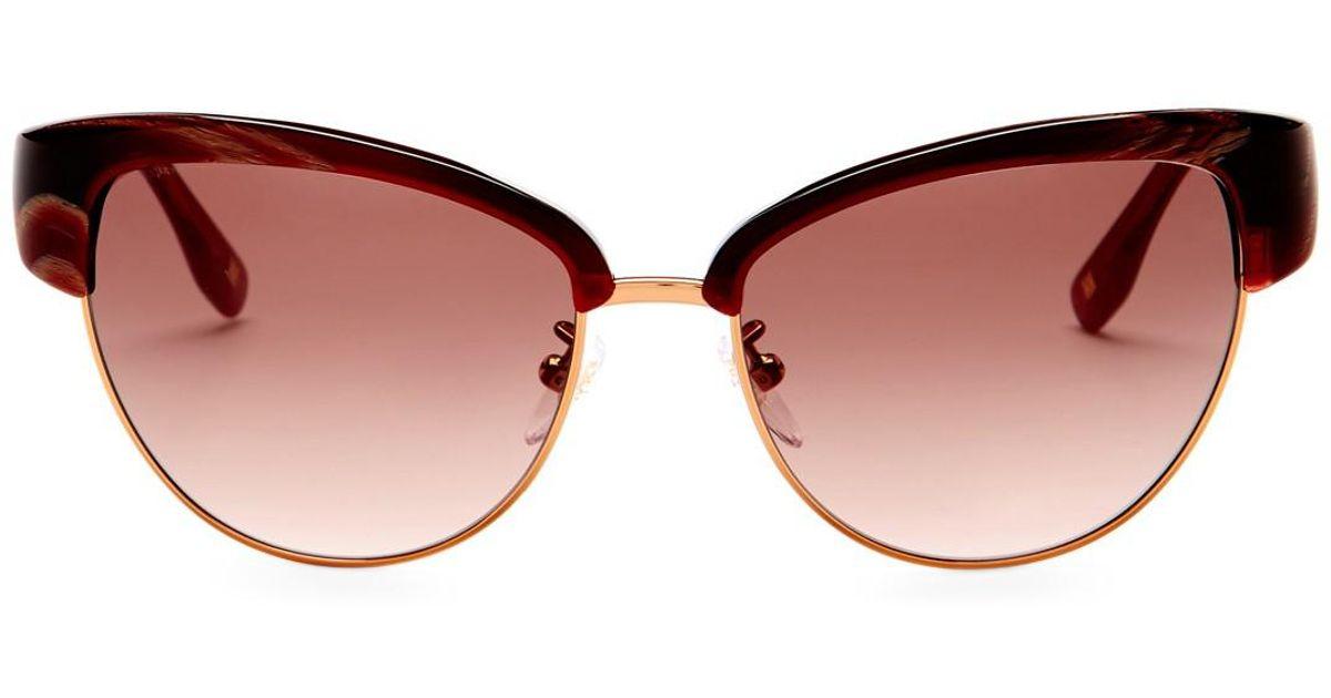 860389f763 Lyst - ESCADA Women s Clubmaster Sunglasses