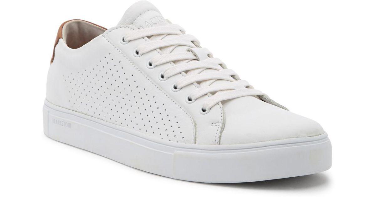 Blackstone 7 Eyelet Perforated Sneaker n65ov