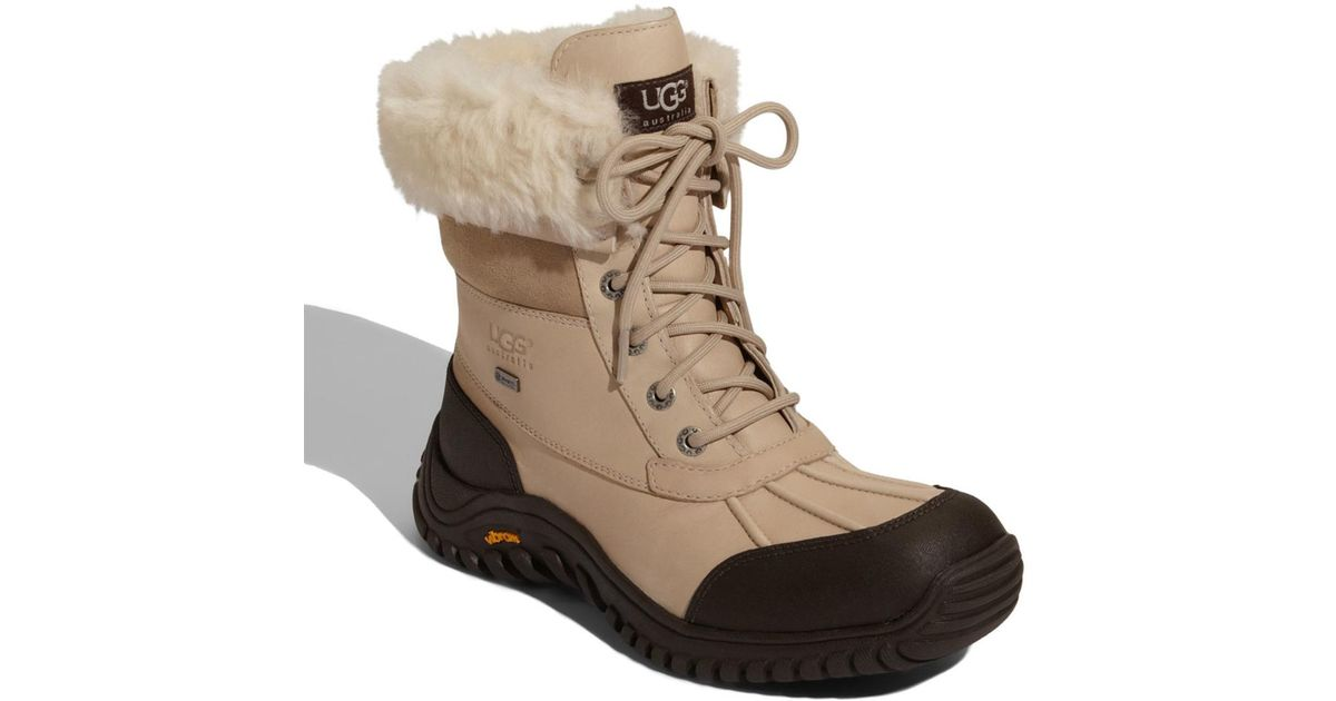 world-wide free shipping another chance purchase authentic Ugg - Natural (r) Adirondack Ii Waterproof Boot (women) - Lyst