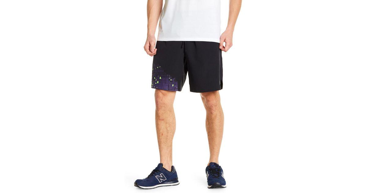 6b12e1442 New Balance Max Intensity Short in Black for Men - Lyst