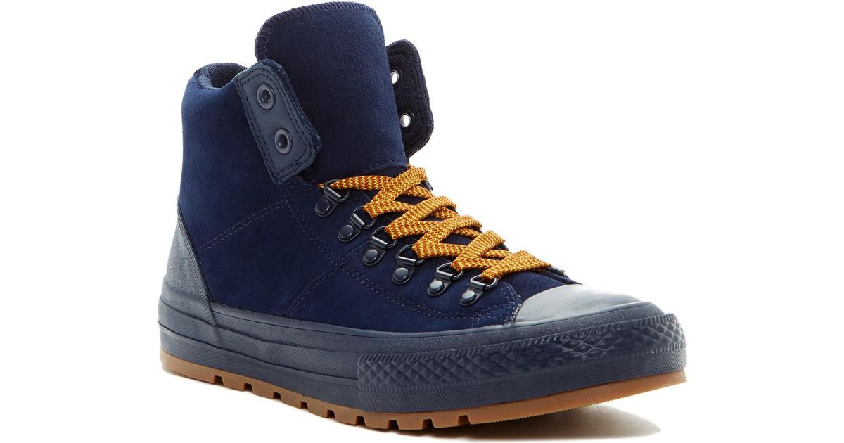 20f8dfbec0fdf2 Lyst - Converse Chuck Taylor All Star Street Hiker High Top Sneaker in Blue  for Men