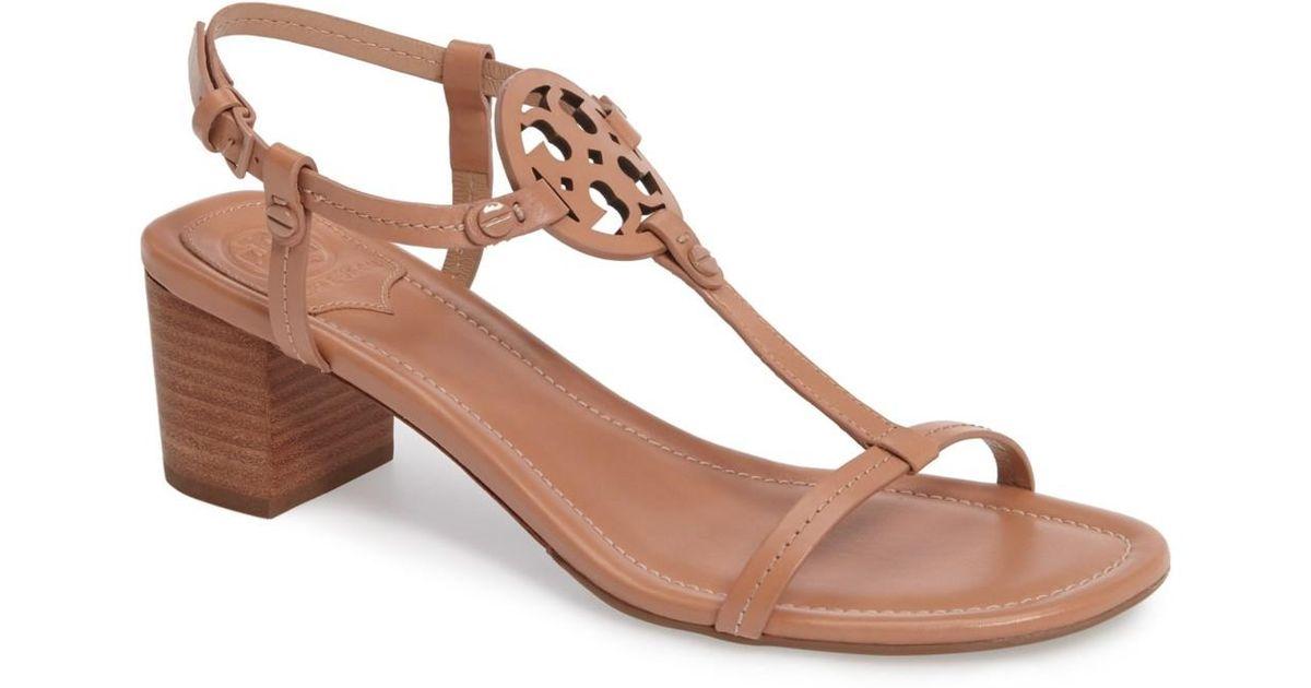 98bcfaa7926e Tory Burch Miller 55mm Sandal (royal Tan) Women s Sandals in Brown - Lyst
