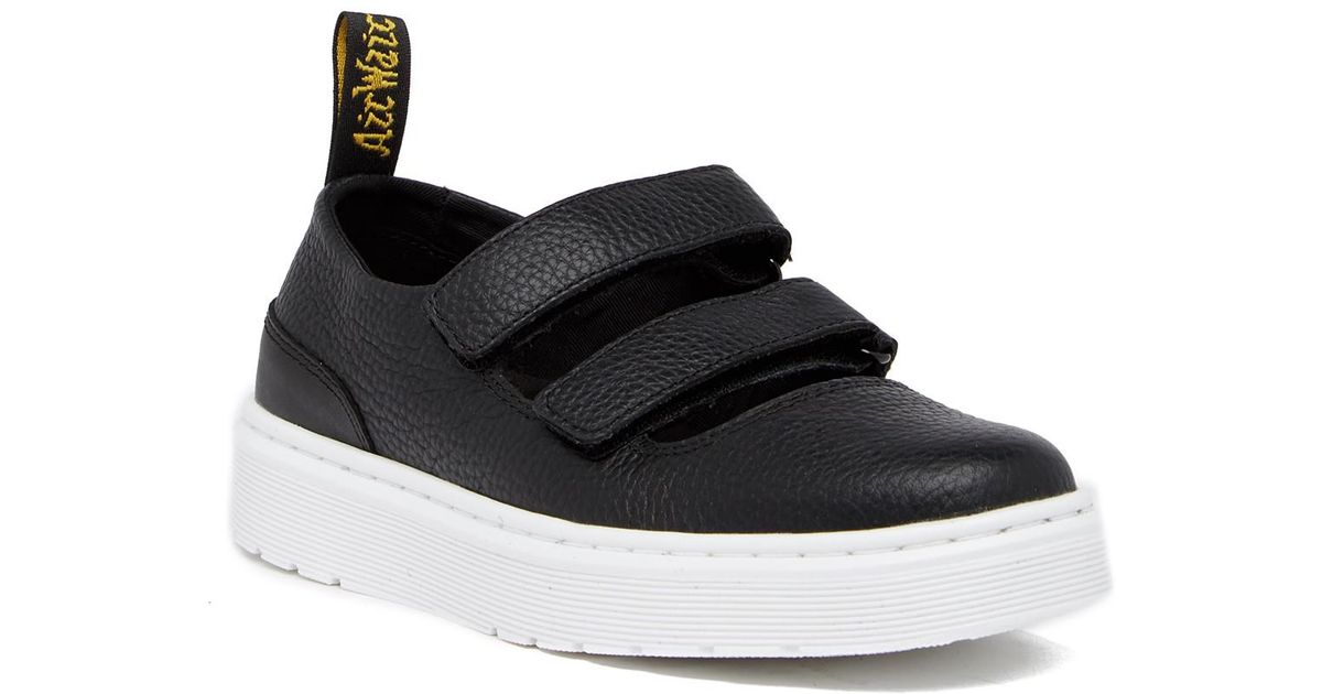 Dr. Martens Mae Leather Strappy Platform Sneaker tBvwoqz