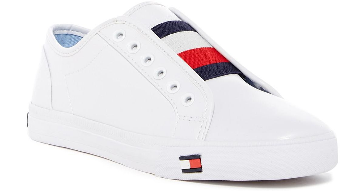 3987005a35aa8f Lyst - Tommy Hilfiger Anni Sneaker in White