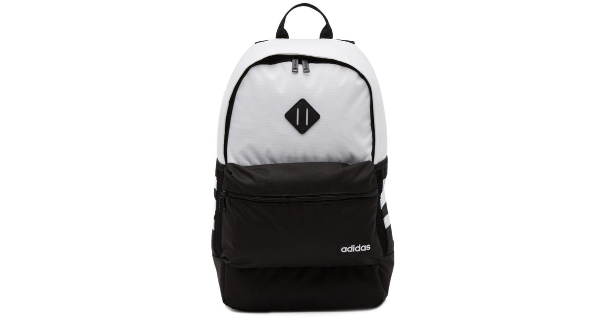 d4376962a827 Lyst - adidas Classic 3 Stripe Backpack in White for Men