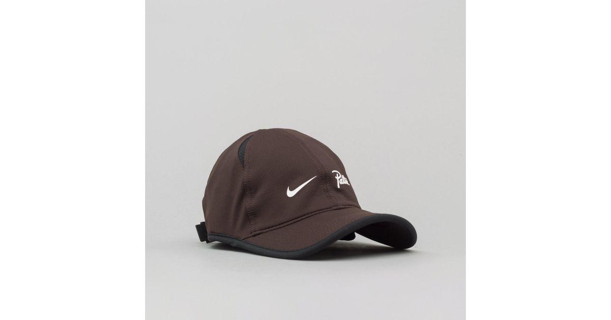 Lyst - Nike X Patta Featherlight Cap In Velvet Brown in Brown for Men 555be20719e