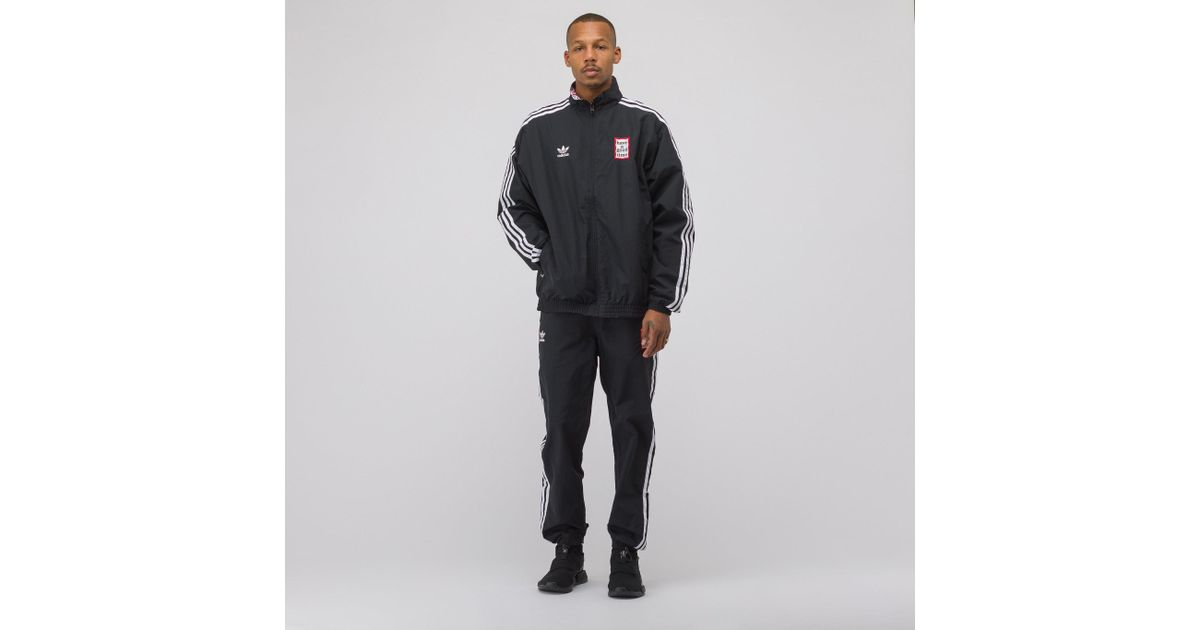 4dc57dfc7f4b Lyst - adidas Have A Good Time Reversible Track Jacket In Black in Black  for Men