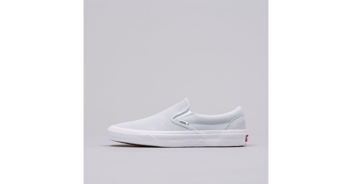 65ed1ffa56 Lyst - Vans Classic Slip-on In Light Blue in Blue for Men