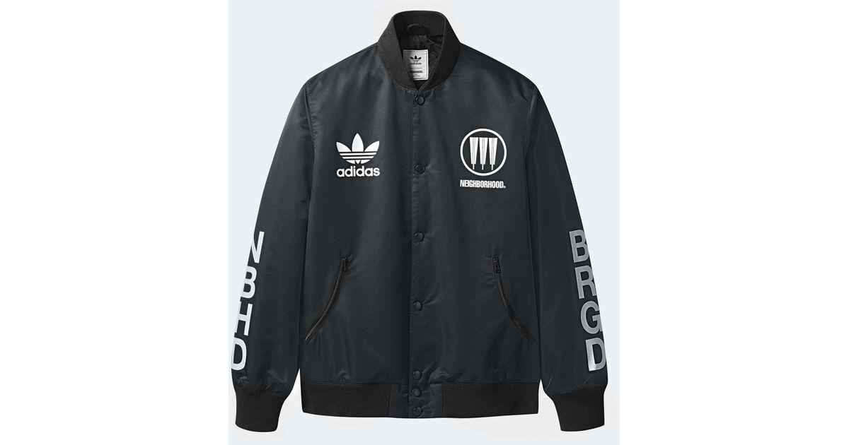 e938c2c99 Lyst - adidas Originals Stadium Jacket in Black for Men