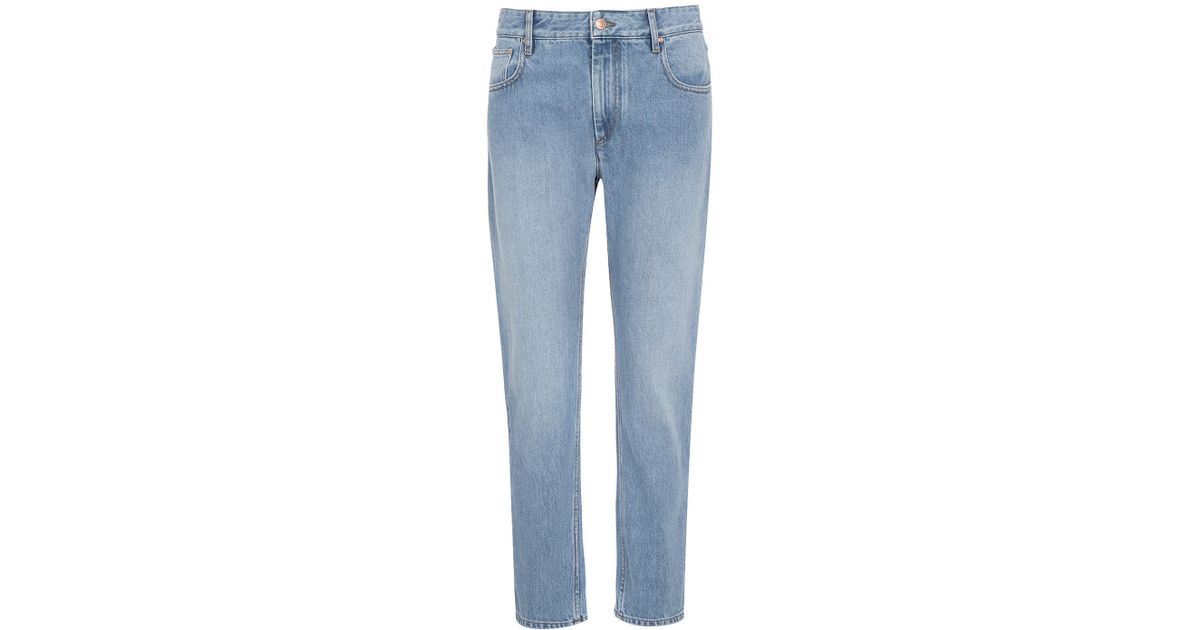 edfdc4ac6da6 Lyst - Étoile Isabel Marant Cliff Relaxed Fit Jean in Blue