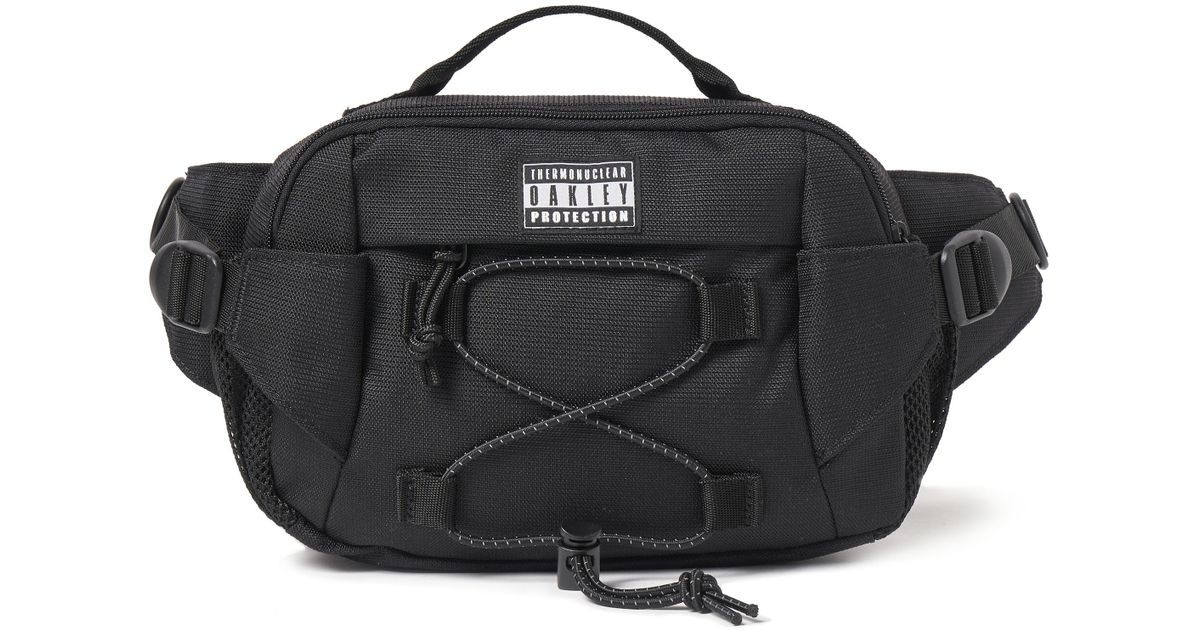 Lyst - Oakley Tnp Solid Belt Bag in Black for Men 73573b3d5f61d