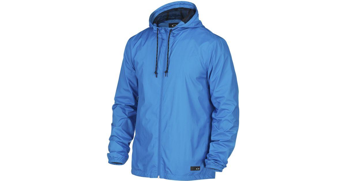 4a4bb38d19e Lyst - Oakley 365 Windbreaker Jacket in Blue for Men