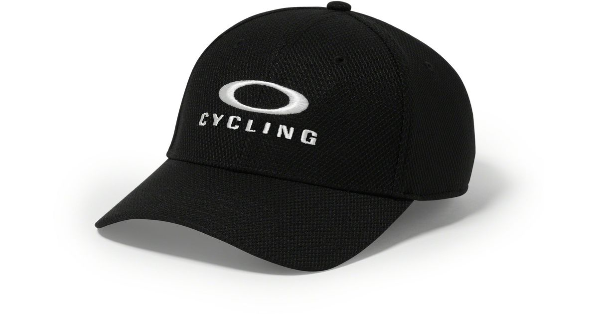 low priced 0f64f b7009 Oakley O-cycling Hat in Black for Men - Lyst