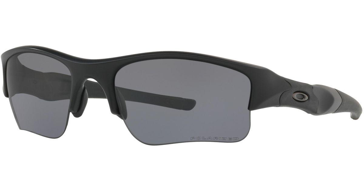 6a6668f192 Lyst - Oakley Flak Jacket® Xlj Polarized Standard Issue in Black for Men