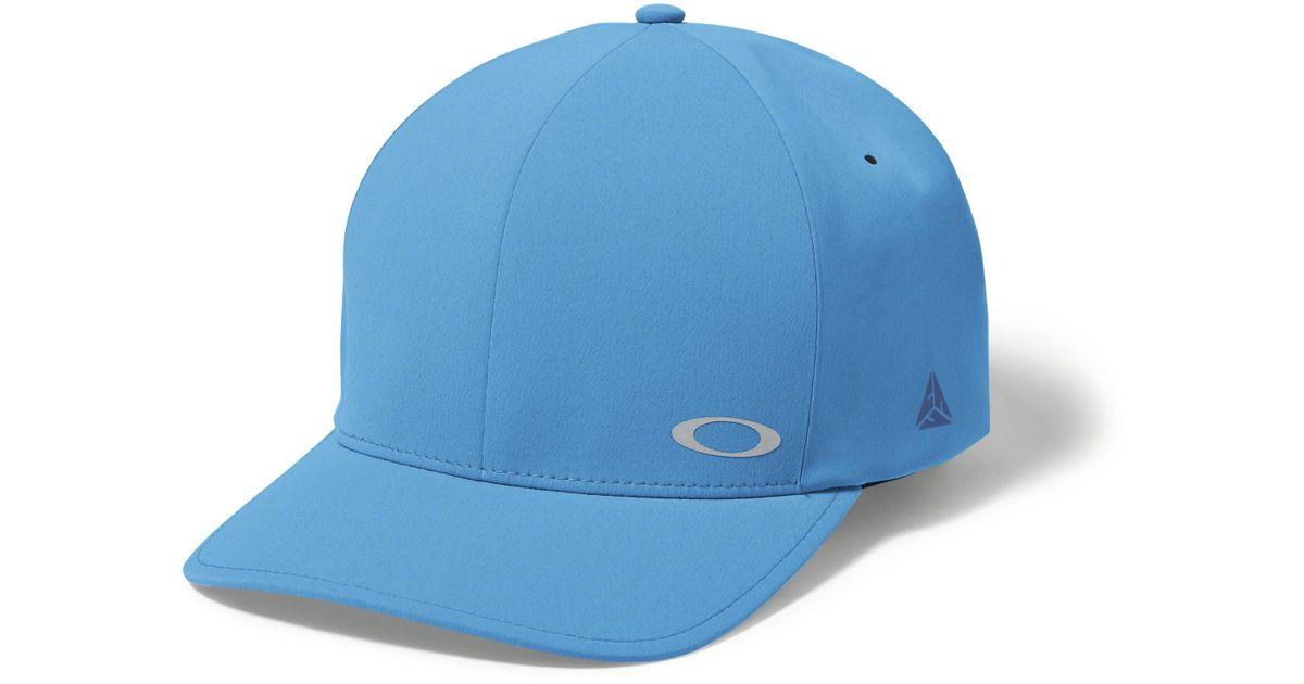 e003c10d5 ... low cost lyst oakley delta multisport hat in blue for men 21b39 86b30