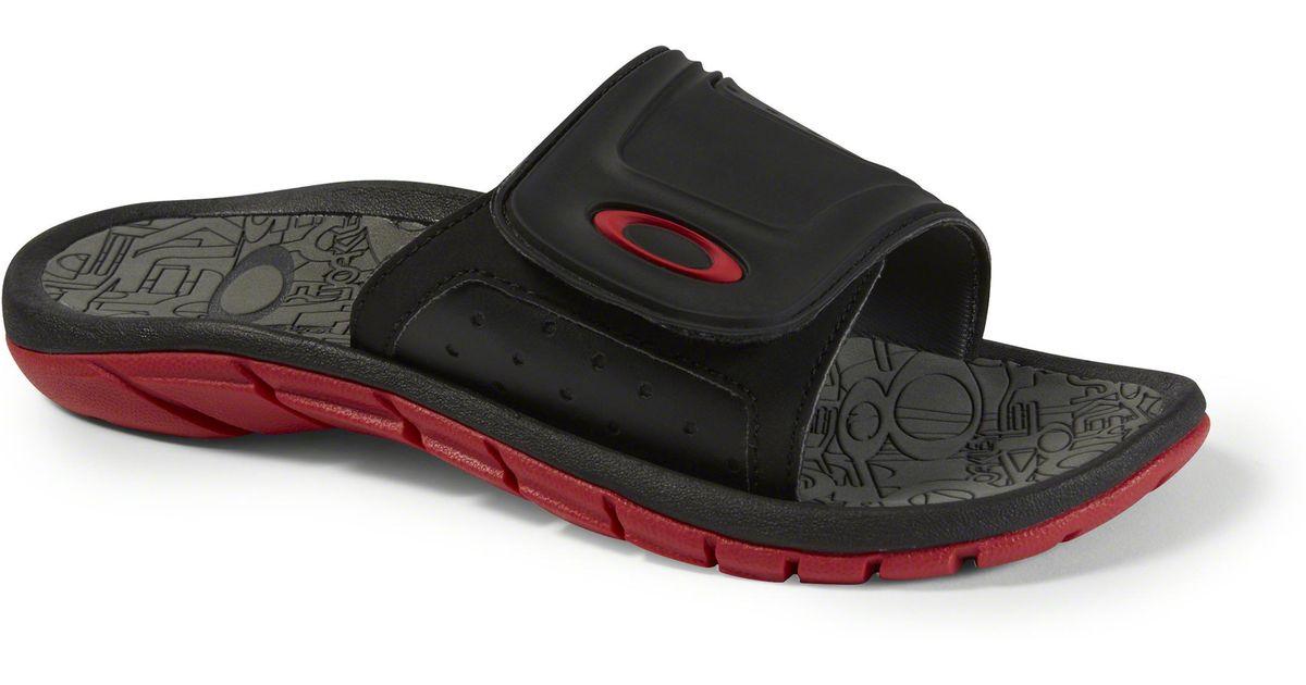2ec56c97986 Lyst - Oakley Supercoil Slide Sandals for Men