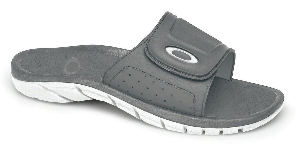 3ee7df365ca1 Lyst - Oakley Supercoil Slide Sandals in Gray for Men