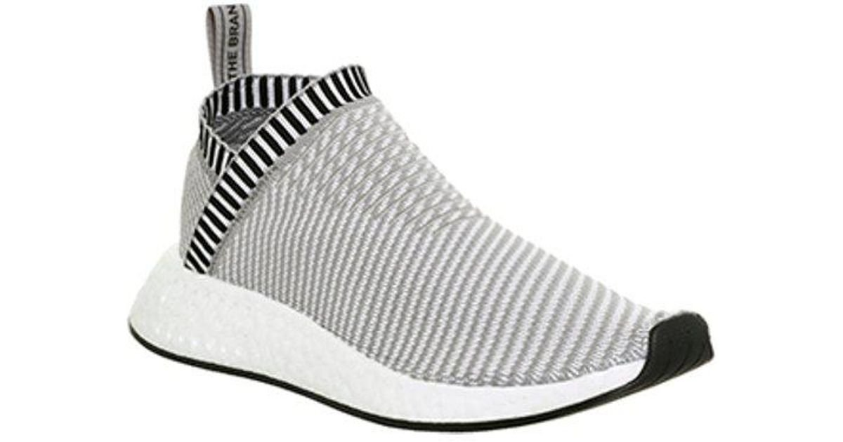 discount sale bc595 f3d3a Adidas - Gray Nmd City Sock 2 for Men - Lyst