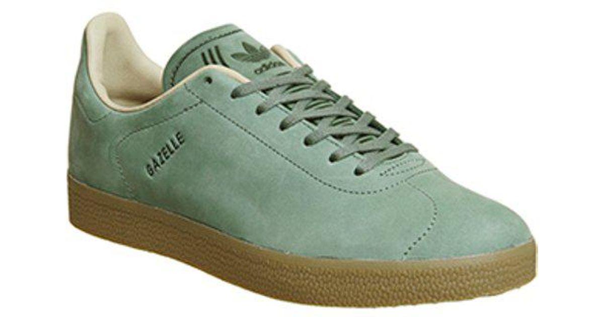 dac031b6714 Lyst - adidas Gazelle Decon in Green for Men