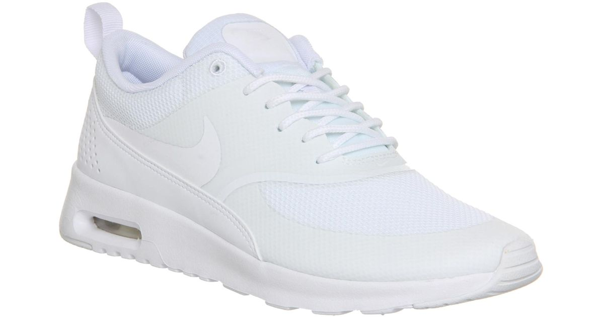 size 40 b328f 989a1 ... sweden nike air max thea low top sneakers in white lyst c832a 9028b