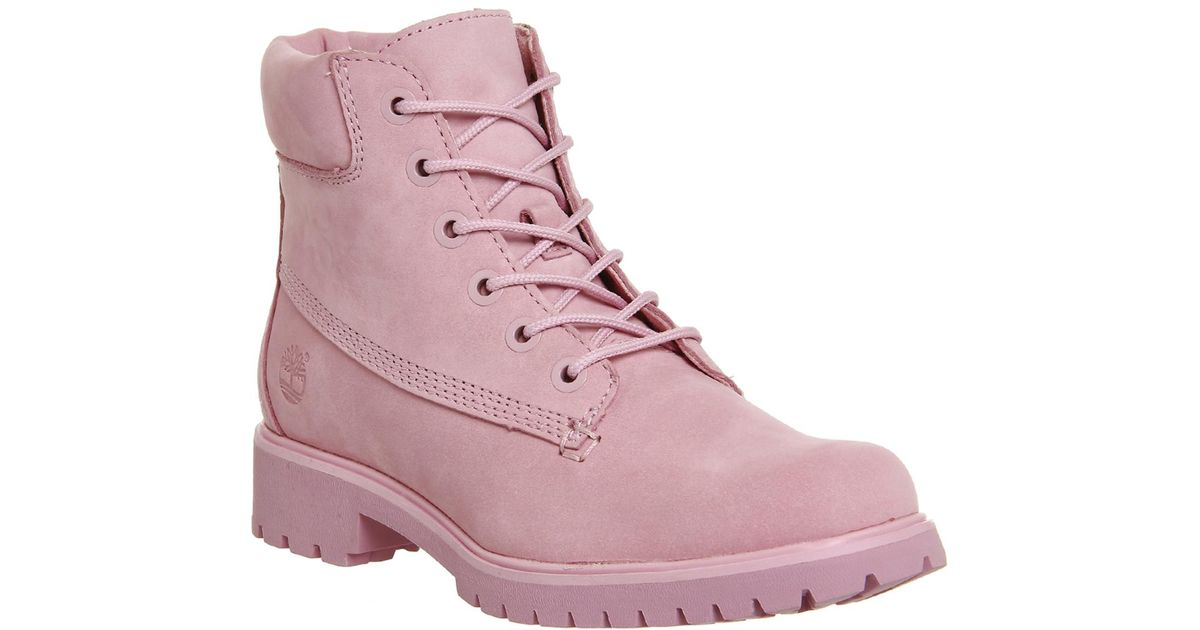cfb776055c Timberland Slim Premium 6 Inch Boots in Purple - Lyst