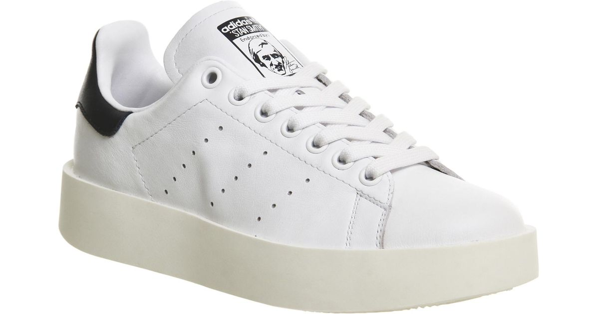 ed4d58c6a2 Lyst - Adidas Originals Stan Smith Bold in White for Men ...