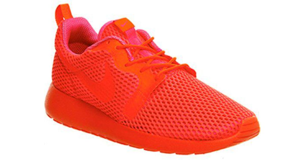 wholesale dealer 20f99 72838 Lyst - Nike Roshe Run Hyp W in Red