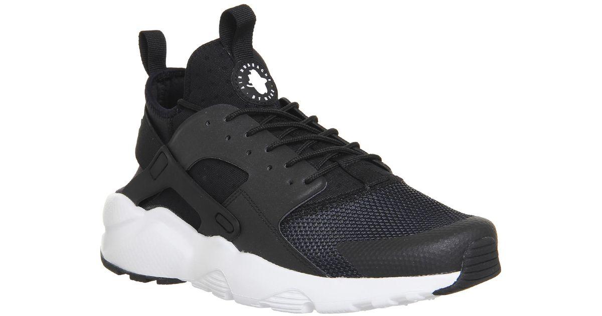 87afc7ca18d7 Nike Air Huarache Run Ultra in Black for Men - Lyst