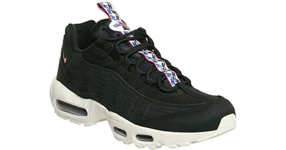 low priced 48da4 8cb00 Nike Air Max 95 in Black for Men - Lyst