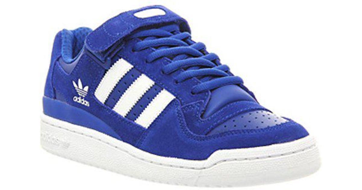 low priced 3a273 29ea3 ... sweden lyst adidas forum lo rs te in blue for men 1ff66 66c6e ...