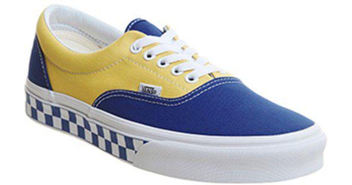 231735ed90 Lyst - Vans Era Sneakers in Blue for Men