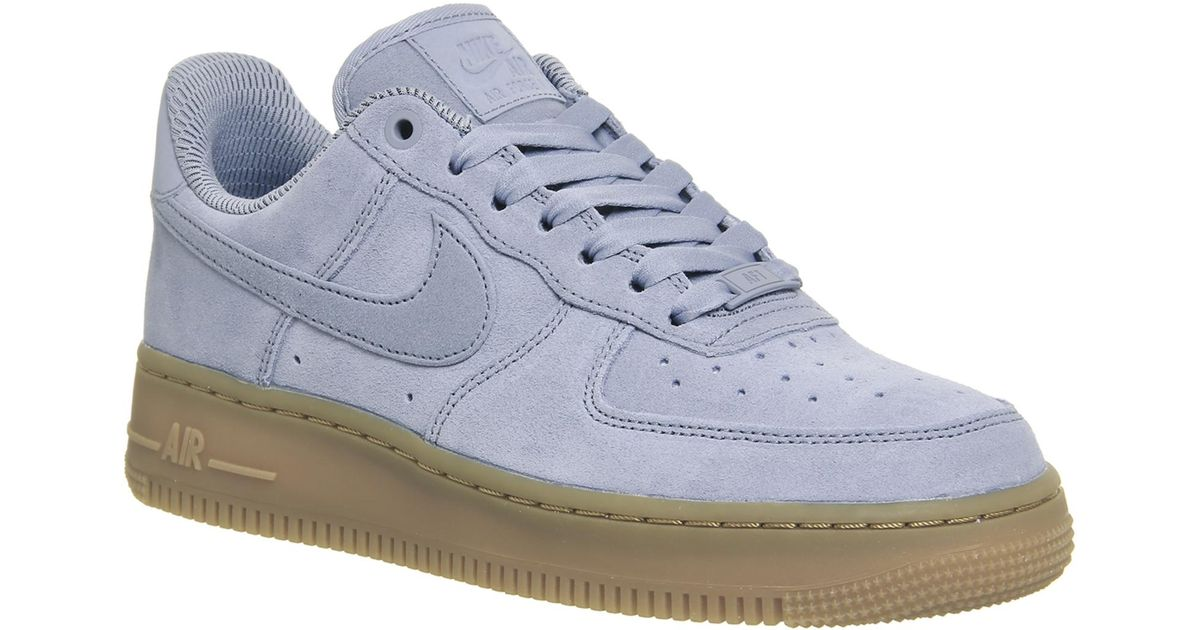 404a5840b7824 Lyst - Nike Air Force 1  07 in Gray
