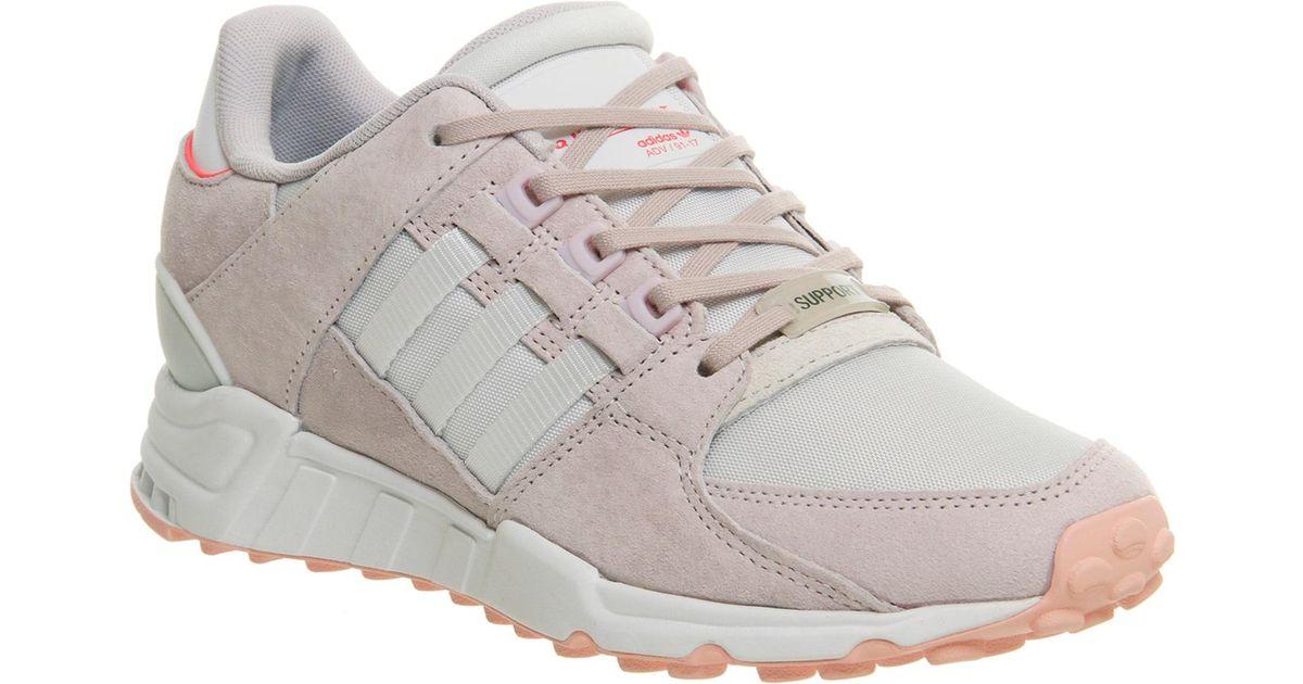 66b12dda1984 Adidas Eqt Support Rf in White - Lyst