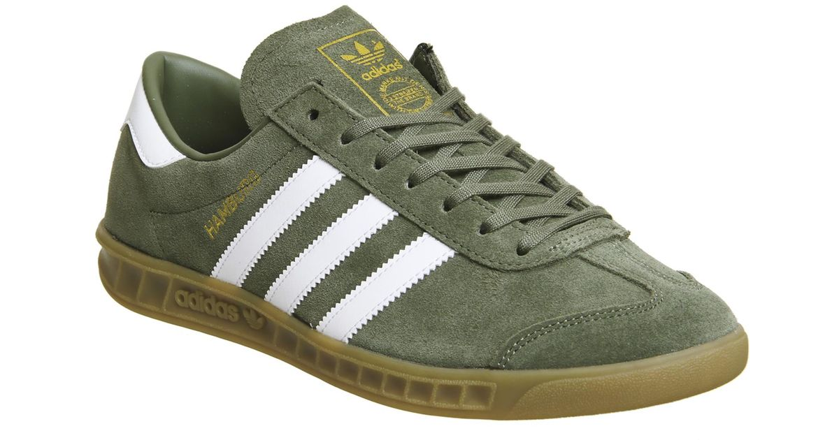 adidas hamburg trainers in green for men save 49 36708860759494 rh lyst co uk