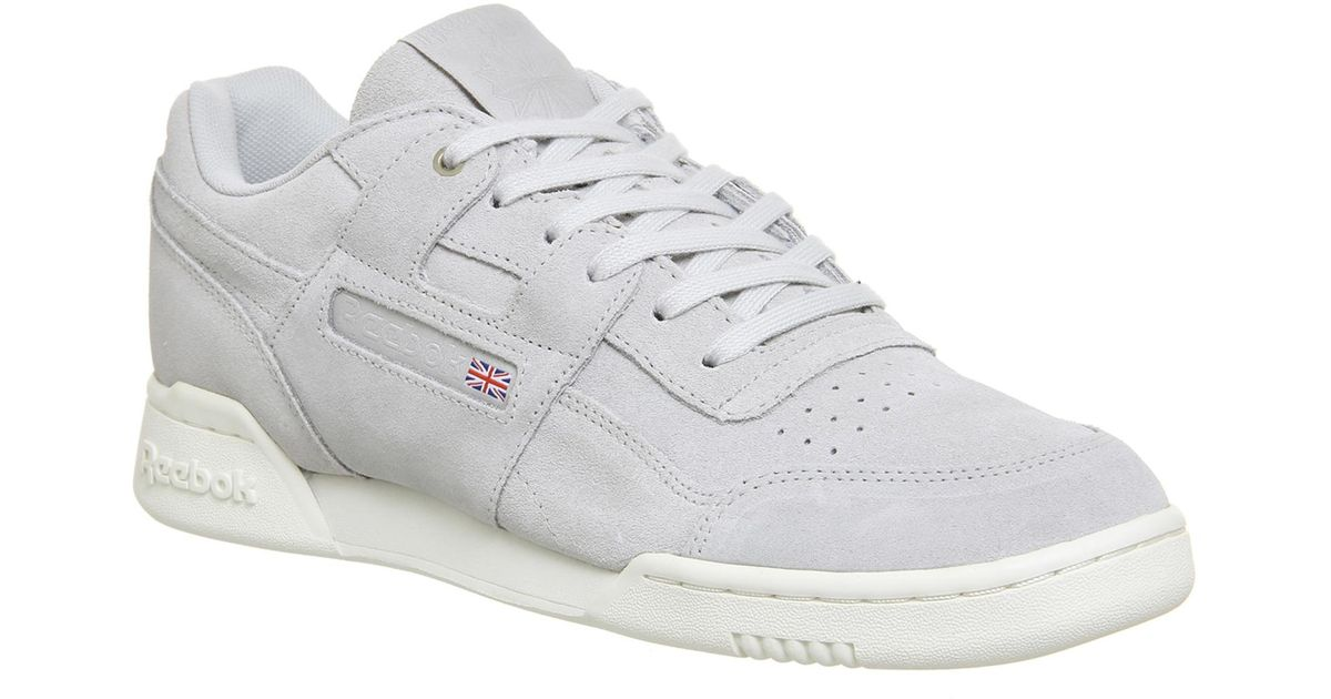 707f32ece206c Reebok Workout Plus Trainers for Men - Lyst