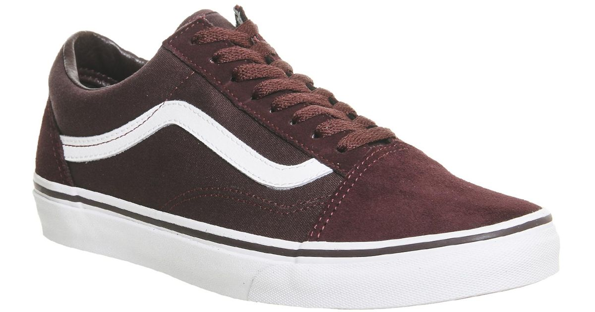 Lyst - Vans Chocolate Torte true White Old Skool Trainers in Brown for Men 0f171ad43