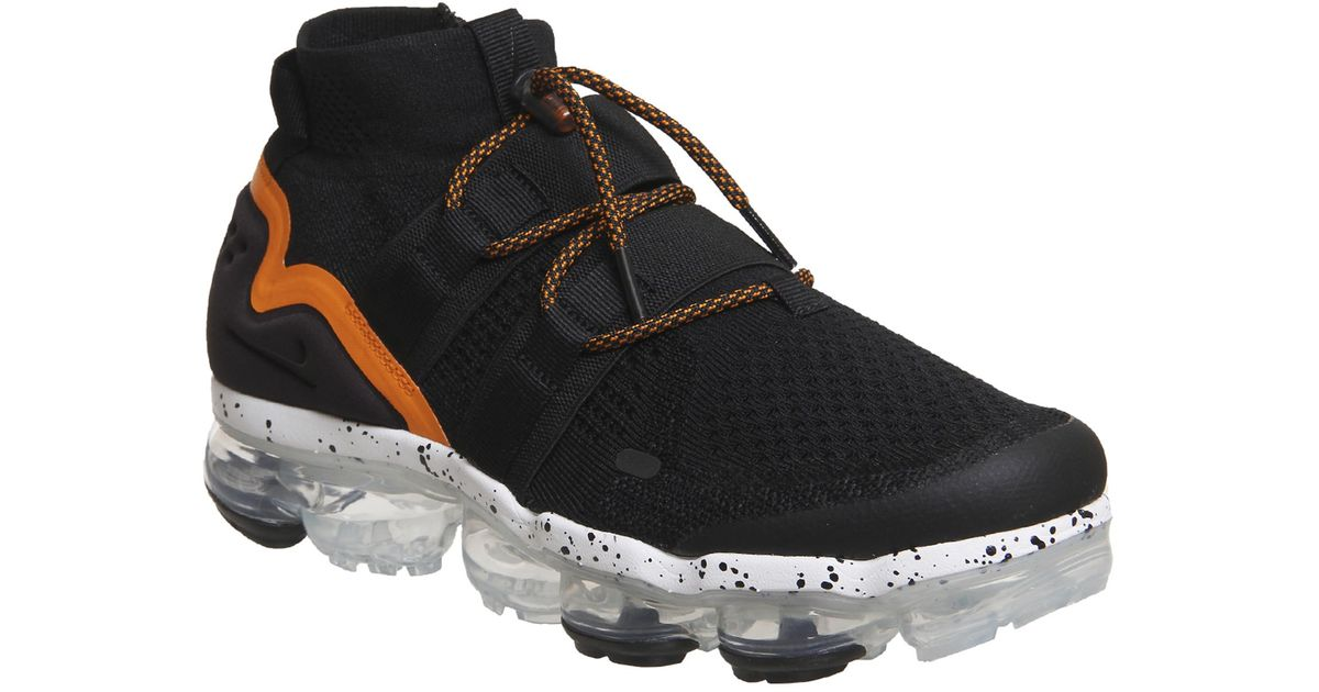 9f178c747e379 Nike Air Vapormax Flyknit Utility in Black - Lyst