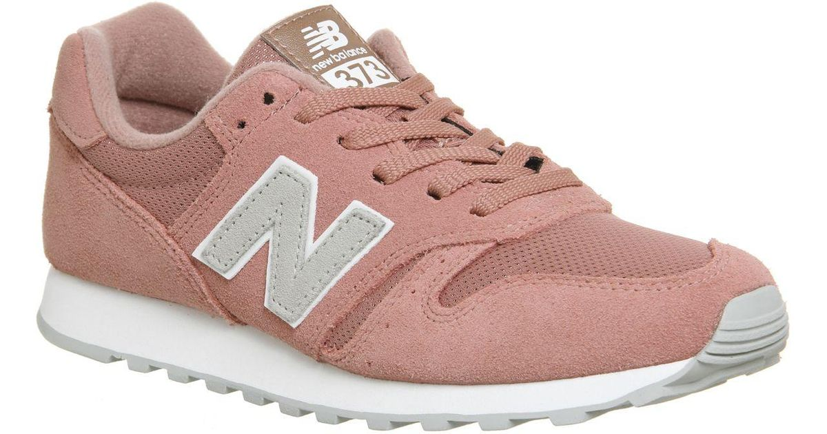 sports shoes 72651 63934 Lyst - New Balance 373 Trainers in Pink